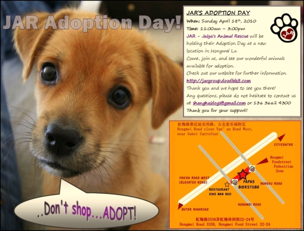 18th April JAR Adoption Day