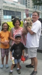 Duo Duo 4 with his new family!