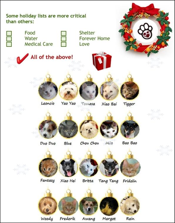 Christmas Holiday List