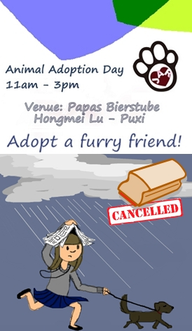 JAR Adoption Day - Cancelled!